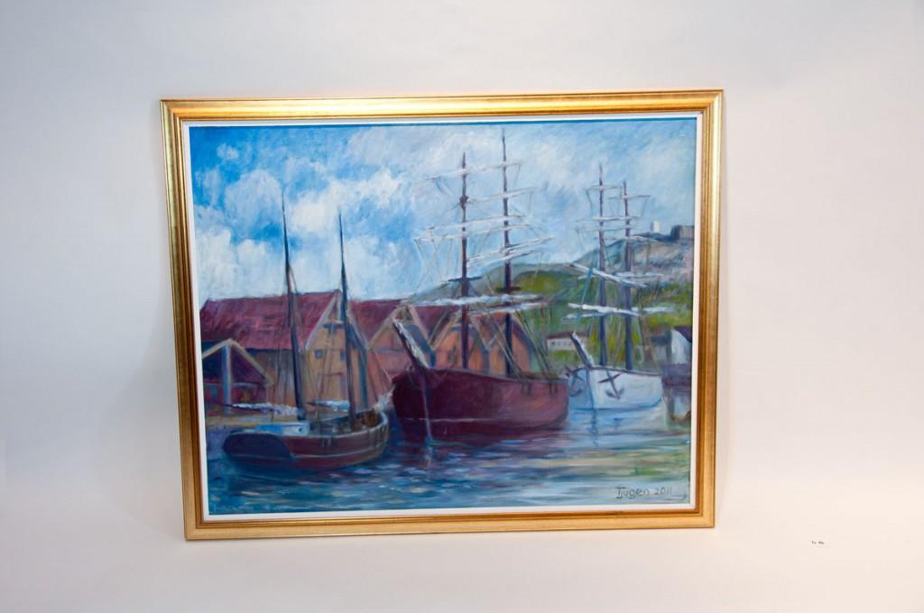 Maleri seilskuter