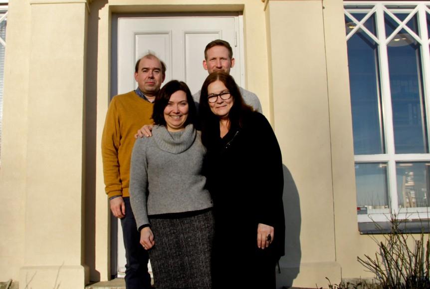 Øverst fra venstre: James R. Archer, Espen A. Nordenhaug, Lillian Nyborg og Kristin Søhoel.