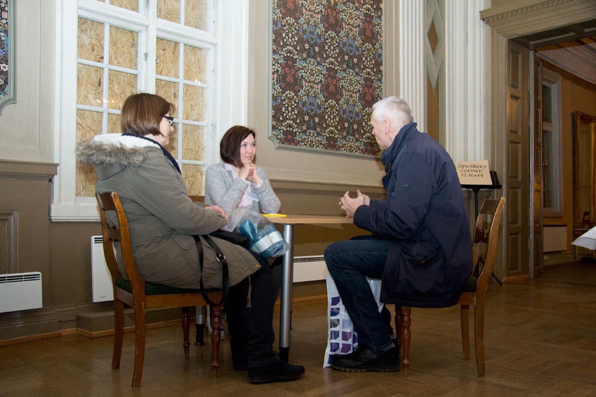 Registrering av gjenstander og gode samtaler