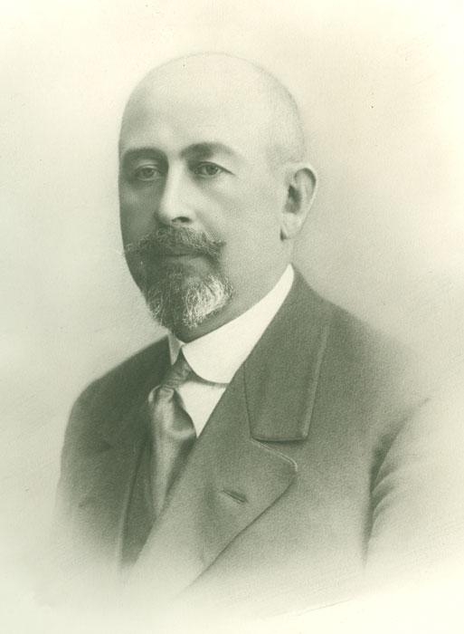 Mads Wiel (1861-1829).   Foto: Halden historiske Samlinger