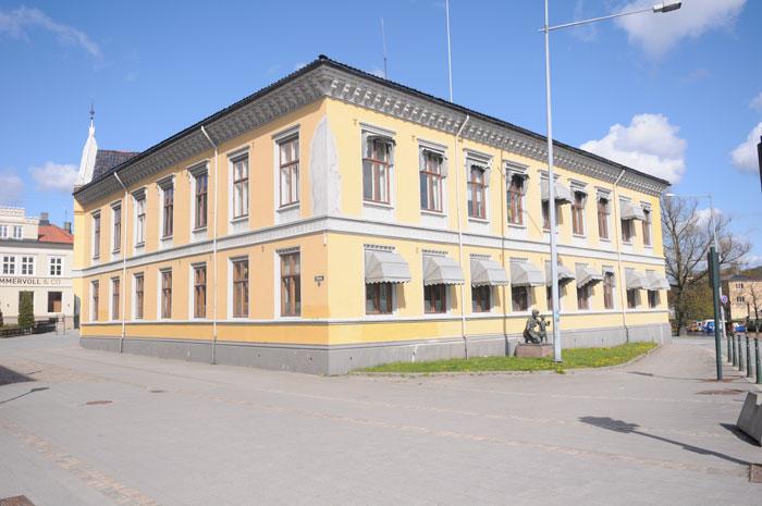 Wielgården sett fra Wiels plass_Foto: Svein Norheim.