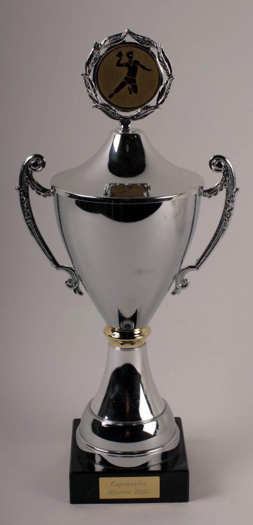Det synlige beviset på cupmesterskapet for herrer håndball i 1997.